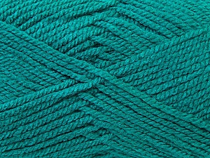 Worsted Fiber Content 100% Acrylic, Sea Green, Brand Ice Yarns, Yarn Thickness 4 Medium Worsted, Afghan, Aran, fnt2-23740