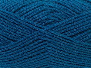 Worsted Fiber Content 100% Acrylic, Teal, Brand Ice Yarns, Yarn Thickness 4 Medium Worsted, Afghan, Aran, fnt2-23741