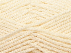 Bulky  Fiber Content 100% Acrylic, Brand Ice Yarns, Ecru, Yarn Thickness 5 Bulky  Chunky, Craft, Rug, fnt2-23745
