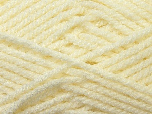 Bulky  Fiber Content 100% Acrylic, Brand Ice Yarns, Cream, Yarn Thickness 5 Bulky  Chunky, Craft, Rug, fnt2-23746