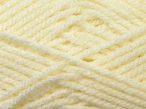 Bulky  Fiber Content 100% Acrylic, Brand Ice Yarns, Cream, Yarn Thickness 5 Bulky  Chunky, Craft, Rug, fnt2-23746
