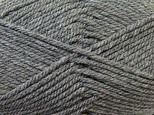 Bulky  Fiber Content 100% Acrylic, Brand Ice Yarns, Grey, Yarn Thickness 5 Bulky  Chunky, Craft, Rug, fnt2-23747