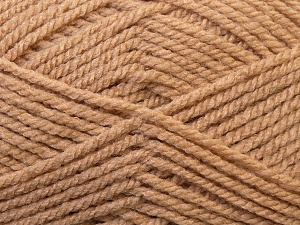 Bulky  Fiber Content 100% Acrylic, Brand Ice Yarns, Camel, Yarn Thickness 5 Bulky  Chunky, Craft, Rug, fnt2-23748
