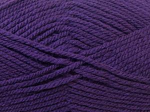 Bulky  Fiber Content 100% Acrylic, Purple, Brand Ice Yarns, Yarn Thickness 5 Bulky  Chunky, Craft, Rug, fnt2-23755