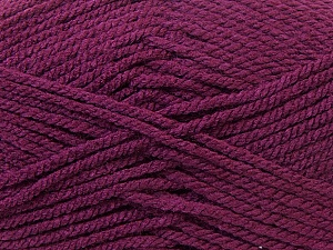 Bulky  Fiber Content 100% Acrylic, Maroon, Brand Ice Yarns, Yarn Thickness 5 Bulky  Chunky, Craft, Rug, fnt2-23756