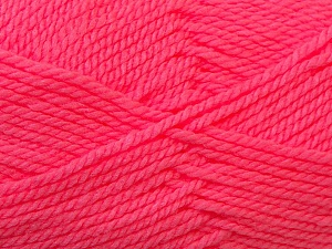 Bulky  Fiber Content 100% Acrylic, Pink, Brand Ice Yarns, Yarn Thickness 5 Bulky  Chunky, Craft, Rug, fnt2-23757