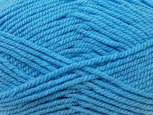 Bulky  Fiber Content 100% Acrylic, Light Blue, Brand Ice Yarns, Yarn Thickness 5 Bulky  Chunky, Craft, Rug, fnt2-23761
