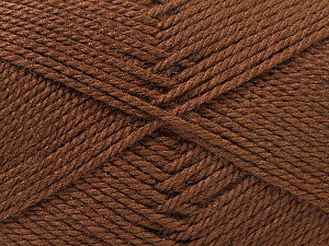 Fiber Content 100% Acrylic, Brand Ice Yarns, Brown, Yarn Thickness 2 Fine  Sport, Baby, fnt2-23875