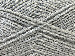 Worsted  Fiber Content 100% Acrylic, Brand Ice Yarns, Grey, Yarn Thickness 4 Medium  Worsted, Afghan, Aran, fnt2-23889