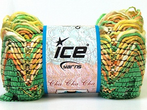 İçerik 90% Akrilik, 10% Polyester, Yellow, Orange, Brand Ice Yarns, Green, Yarn Thickness 6 SuperBulky Bulky, Roving, fnt2-24127