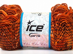 Fiber Content 90% Acrylic, 10% Polyester, Orange, Brand Ice Yarns, Brown, Yarn Thickness 6 SuperBulky Bulky, Roving, fnt2-24241