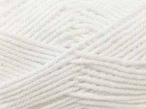 Bulky  Fiber Content 100% Acrylic, White, Brand Ice Yarns, Yarn Thickness 5 Bulky  Chunky, Craft, Rug, fnt2-24500