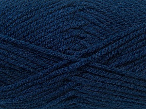 Bulky  Fiber Content 100% Acrylic, Navy, Brand Ice Yarns, Yarn Thickness 5 Bulky  Chunky, Craft, Rug, fnt2-24502