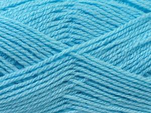 Fiber Content 100% Baby Acrylic, Brand Ice Yarns, Blue, Yarn Thickness 2 Fine  Sport, Baby, fnt2-24524