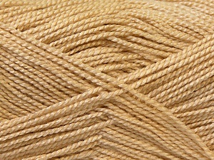 Fiber Content 100% Acrylic, Brand Ice Yarns, Cream, Yarn Thickness 1 SuperFine  Sock, Fingering, Baby, fnt2-24589