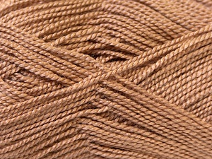 Fiber Content 100% Acrylic, Brand Ice Yarns, Camel, Yarn Thickness 1 SuperFine  Sock, Fingering, Baby, fnt2-24590