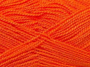 Fiber Content 100% Acrylic, Orange, Brand Ice Yarns, Yarn Thickness 1 SuperFine  Sock, Fingering, Baby, fnt2-24593