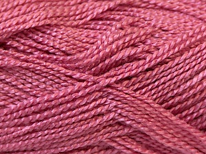 Fiber Content 100% Acrylic, Rose Pink, Brand Ice Yarns, Yarn Thickness 1 SuperFine  Sock, Fingering, Baby, fnt2-24596