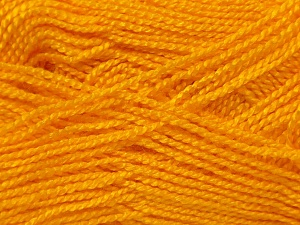 Fiber Content 100% Acrylic, Yellow, Brand Ice Yarns, Yarn Thickness 1 SuperFine  Sock, Fingering, Baby, fnt2-24600