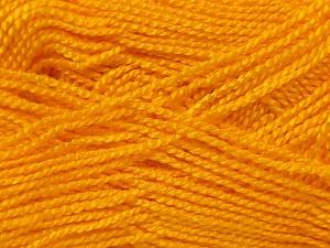 Fiber Content 100% Acrylic, Yellow, Brand Ice Yarns, Yarn Thickness 1 SuperFine  Sock, Fingering, Baby, fnt2-24600