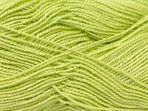 Fiber Content 100% Acrylic, Light Green, Brand ICE, Yarn Thickness 1 SuperFine  Sock, Fingering, Baby, fnt2-24601