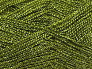 Fiber Content 100% Acrylic, Brand ICE, Dark Olive Green, Yarn Thickness 1 SuperFine  Sock, Fingering, Baby, fnt2-24602