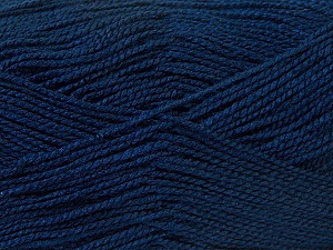 Fiber Content 100% Acrylic, Navy, Brand Ice Yarns, Yarn Thickness 1 SuperFine  Sock, Fingering, Baby, fnt2-24608