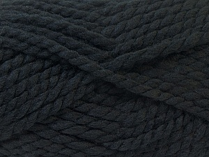 SuperBulky  Fiber Content 55% Acrylic, 45% Wool, Brand Ice Yarns, Black, Yarn Thickness 6 SuperBulky  Bulky, Roving, fnt2-24935