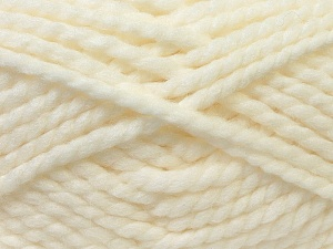 SuperBulky  Fiber Content 55% Acrylic, 45% Wool, White, Brand Ice Yarns, Yarn Thickness 6 SuperBulky  Bulky, Roving, fnt2-24936