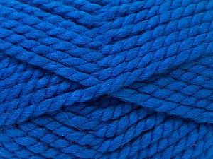 SuperBulky  Fiber Content 55% Acrylic, 45% Wool, Brand Ice Yarns, Blue, Yarn Thickness 6 SuperBulky  Bulky, Roving, fnt2-24947
