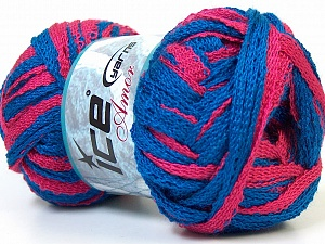 İçerik 100% Akrilik, Pink, Brand Ice Yarns, Blue, Yarn Thickness 6 SuperBulky Bulky, Roving, fnt2-24961