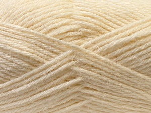 Fiber Content 70% Dralon, 30% Alpaca, White, Brand Ice Yarns, Yarn Thickness 4 Medium  Worsted, Afghan, Aran, fnt2-25374