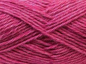 Fiber Content 70% Dralon, 30% Alpaca, Pink, Brand Ice Yarns, Yarn Thickness 4 Medium  Worsted, Afghan, Aran, fnt2-25379