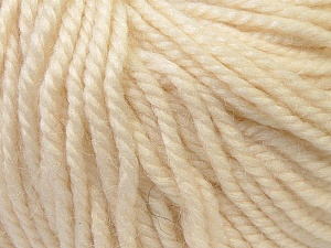 Fiber Content 40% Acrylic, 35% Wool, 25% Alpaca, Brand Ice Yarns, Cream, Yarn Thickness 5 Bulky  Chunky, Craft, Rug, fnt2-25394