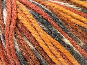 Fiber Content 40% Acrylic, 35% Wool, 25% Alpaca, White, Brand Ice Yarns, Grey, Gold, Brown, Yarn Thickness 5 Bulky  Chunky, Craft, Rug, fnt2-25421