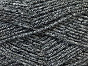 Fiber Content 70% Dralon, 30% Alpaca, Brand Ice Yarns, Grey, Yarn Thickness 4 Medium  Worsted, Afghan, Aran, fnt2-25669