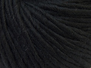 Fiber Content 100% Wool, Brand Ice Yarns, Black, Yarn Thickness 5 Bulky  Chunky, Craft, Rug, fnt2-25992