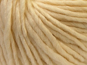 Fiber Content 100% Wool, Brand Ice Yarns, Cream, Yarn Thickness 5 Bulky  Chunky, Craft, Rug, fnt2-25993
