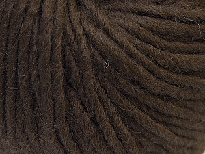 Fiber Content 100% Wool, Brand Ice Yarns, Brown, Yarn Thickness 5 Bulky  Chunky, Craft, Rug, fnt2-25995