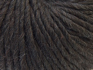 Fiber Content 100% Wool, Brand Ice Yarns, Dark Brown, Yarn Thickness 5 Bulky  Chunky, Craft, Rug, fnt2-25996