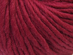Fiber Content 100% Wool, Brand Ice Yarns, Burgundy, Yarn Thickness 5 Bulky  Chunky, Craft, Rug, fnt2-26002