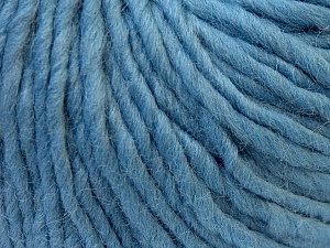 Fiber Content 100% Wool, Light Blue, Brand Ice Yarns, Yarn Thickness 5 Bulky  Chunky, Craft, Rug, fnt2-26011