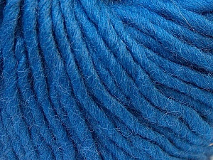 Fiber Content 100% Wool, Brand ICE, Blue, Yarn Thickness 5 Bulky  Chunky, Craft, Rug, fnt2-26012
