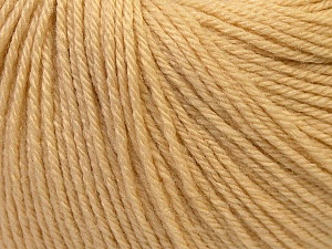 Fiber Content 40% Acrylic, 40% Merino Wool, 20% Polyamide, Brand Ice Yarns, Cream, Yarn Thickness 2 Fine  Sport, Baby, fnt2-26114