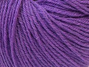 Fiber Content 40% Merino Wool, 40% Acrylic, 20% Polyamide, Purple, Brand Ice Yarns, Yarn Thickness 2 Fine  Sport, Baby, fnt2-26118