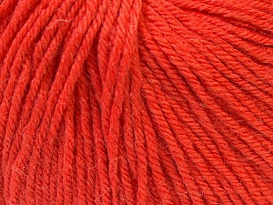 Fiber Content 40% Merino Wool, 40% Acrylic, 20% Polyamide, Orange, Brand Ice Yarns, Yarn Thickness 2 Fine  Sport, Baby, fnt2-26128