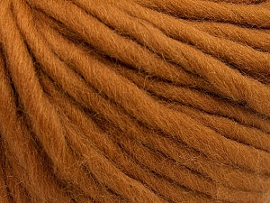 Fiber Content 100% Australian Wool, Light Brown, Brand Ice Yarns, Yarn Thickness 6 SuperBulky  Bulky, Roving, fnt2-26154