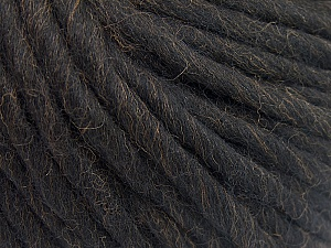 Fiber Content 100% Australian Wool, Brand Ice Yarns, Coffee Brown, Yarn Thickness 6 SuperBulky  Bulky, Roving, fnt2-26157