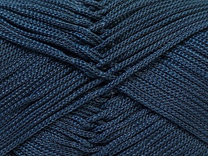Width is 3 mm Fiber Content 100% Polyester, Navy, Brand Ice Yarns, fnt2-27083