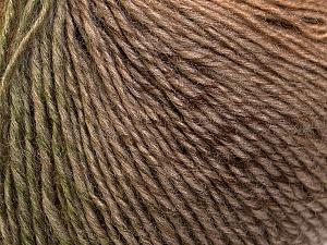 Fiber Content 50% Acrylic, 50% Wool, Khaki, Brand Ice Yarns, Camel, Brown Shades, Yarn Thickness 3 Light  DK, Light, Worsted, fnt2-27150